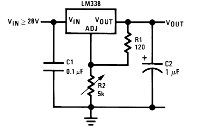 Electronics Projects: Making a Simple 1.25 to 35v Variable