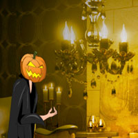 Games2Rule Halloween Light Show House Escape