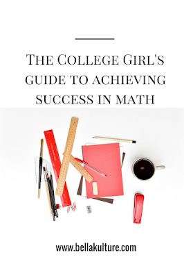 How to succeed in Math
