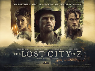 The Lost City of Z Banner Poster