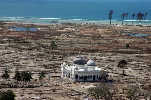 Masjid Baiturrahman di Banda Aceh