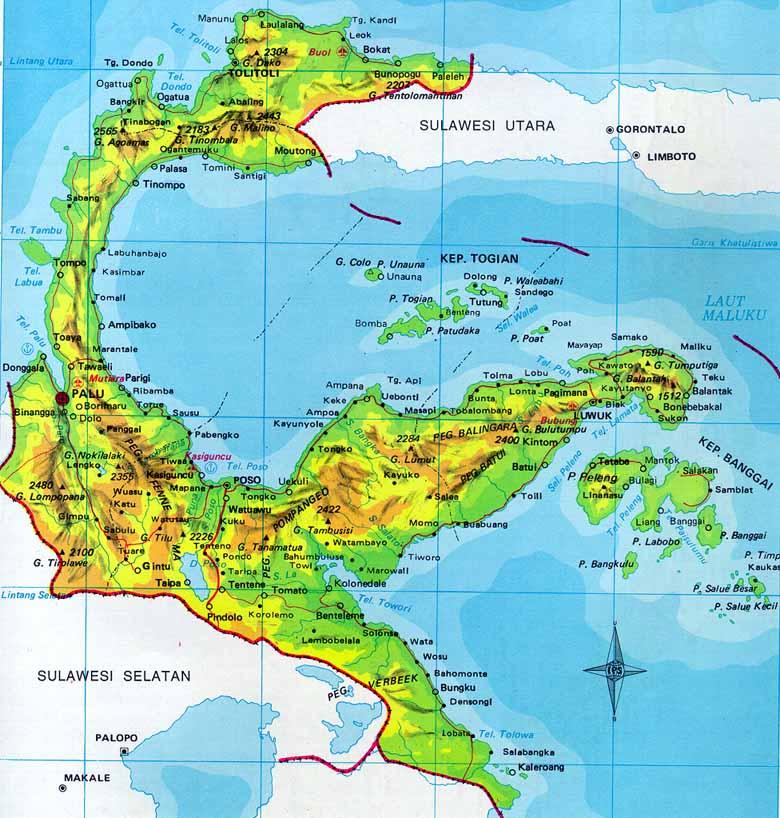 Lambang Logo Vector Provinsi Sulawesi Tengah Sulteng Ardi La Peta