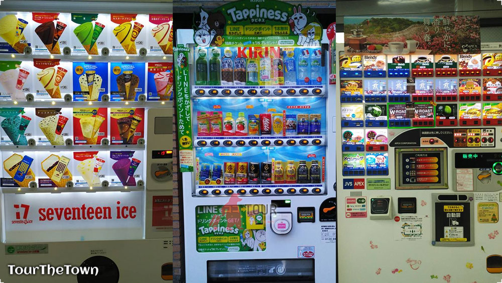Vending Machine Unik di Jepang Yang Tidak Akan Ditemui di Indonesia