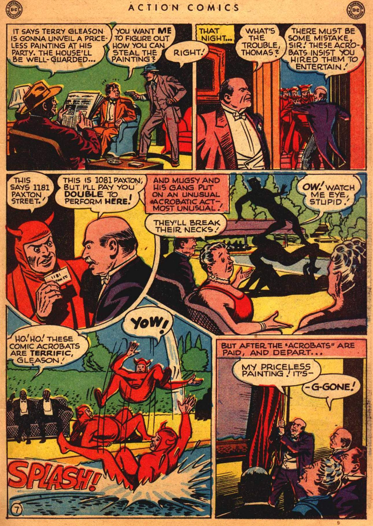 Read online Action Comics (1938) comic -  Issue #108 - 8