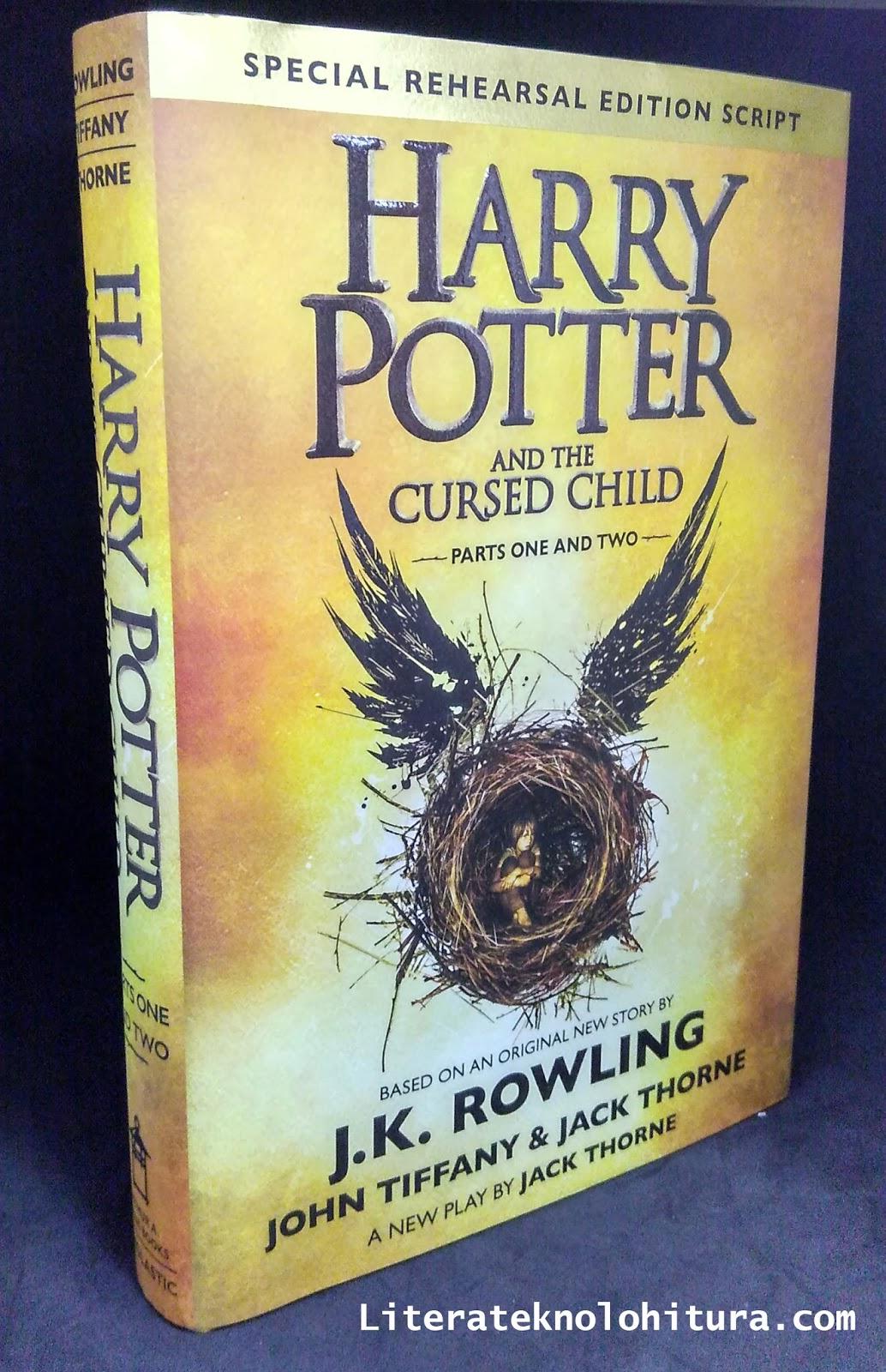Harry Potter Cursed Child Book Cover ~ Literateknolohitura