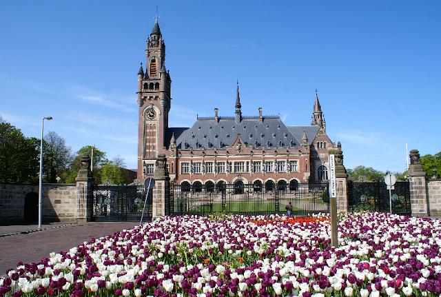 Palácio da Paz em Haia na Holanda