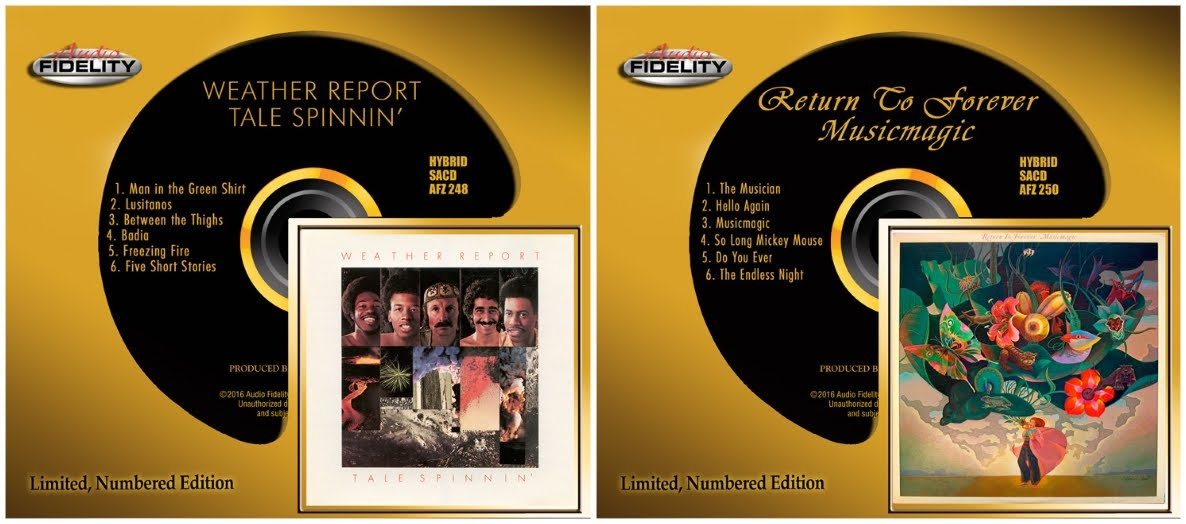 Audio Fidelity To Release Two Jazz-Fusion Classics on Hybrid