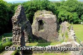Cefn Cribwr, Smelt Mill Approach