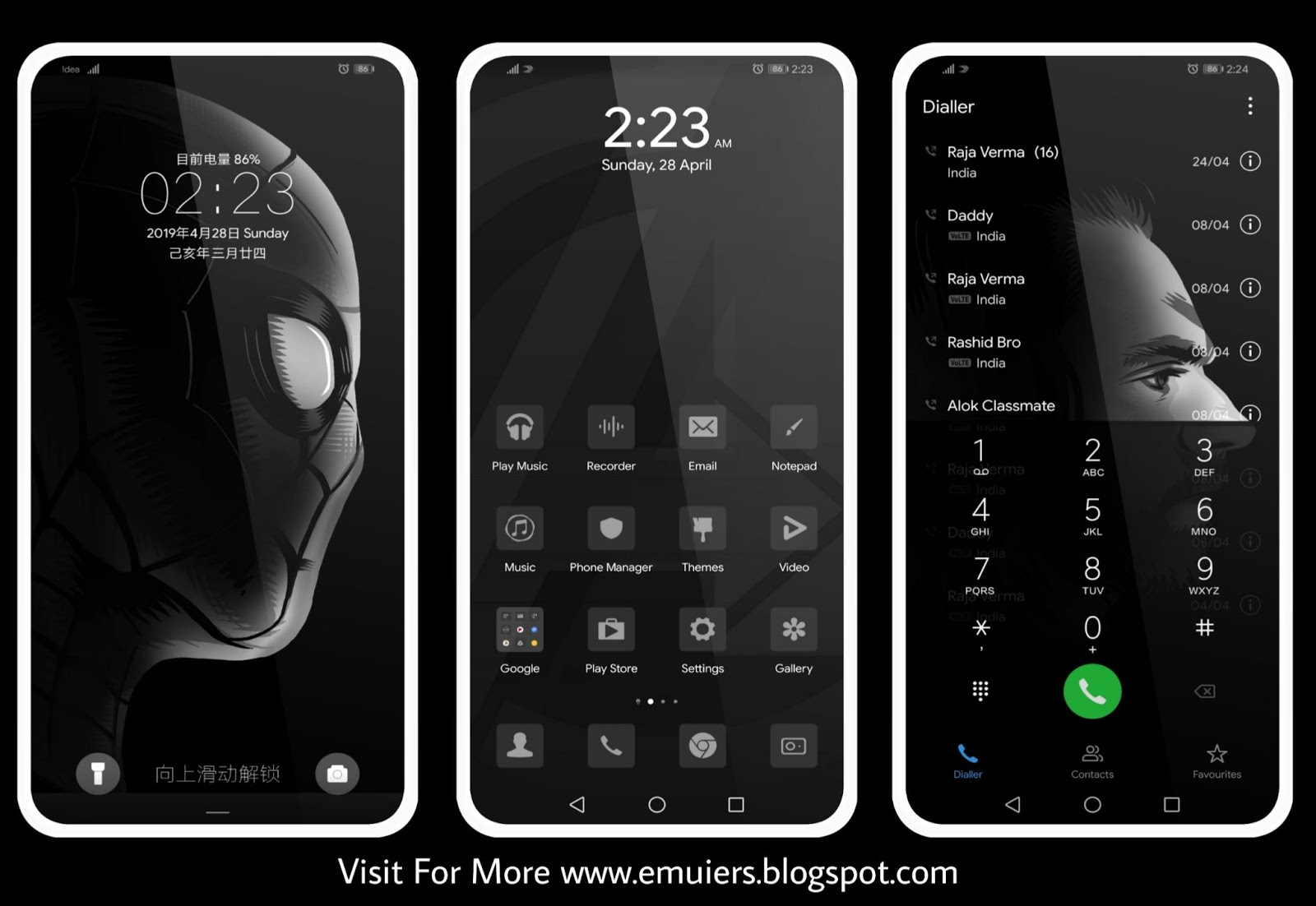 Avengers: Endgame Edition EMUI Theme Download For Huawei & HONOR