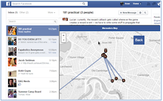 Marauder's Map' allows stalking Your Friends with Facebook