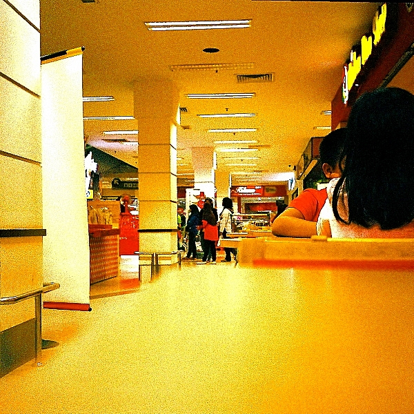Analog Diary, In the Mall 02