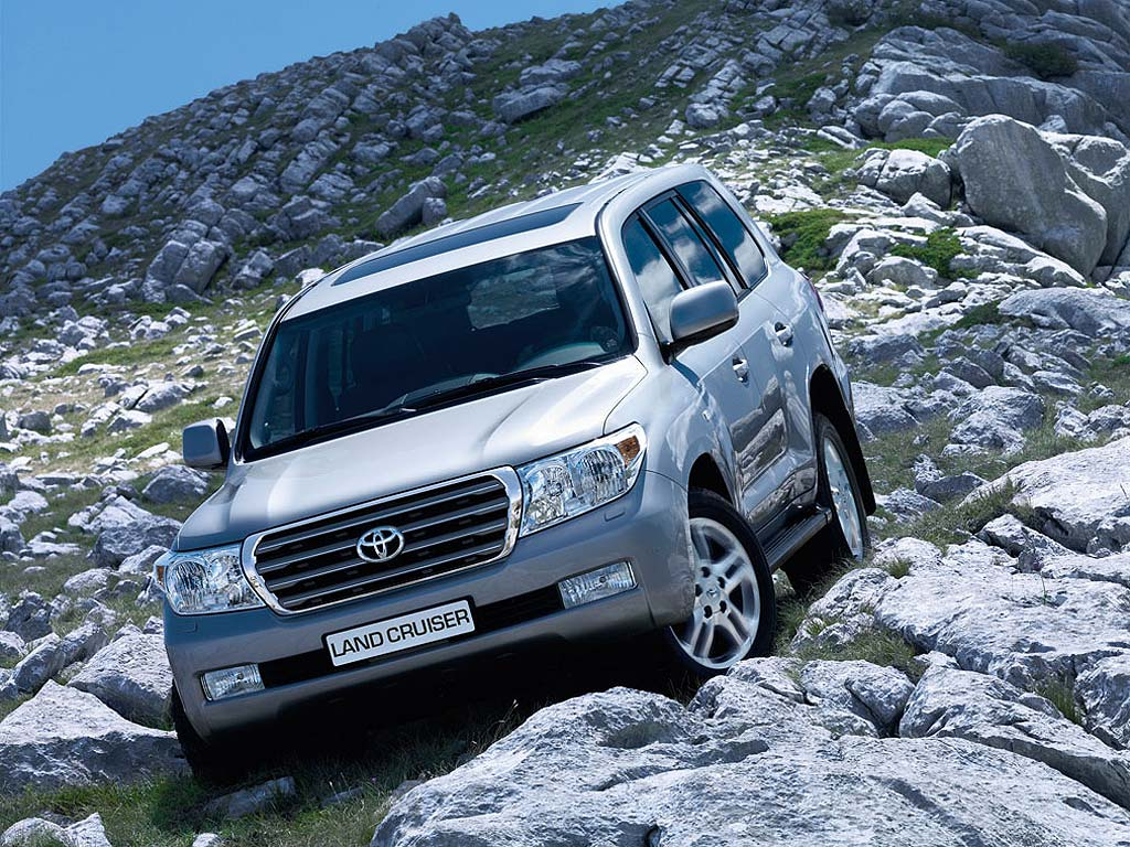 Informoose: Toyota Land Cruiser History Review Detail Specification