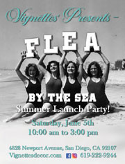 Flea by the Sea<br>Summer Launch Party!