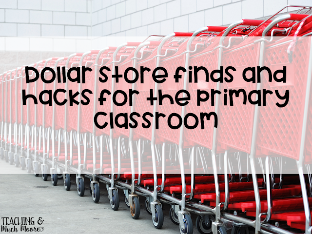 Dollar Store teacher hacks