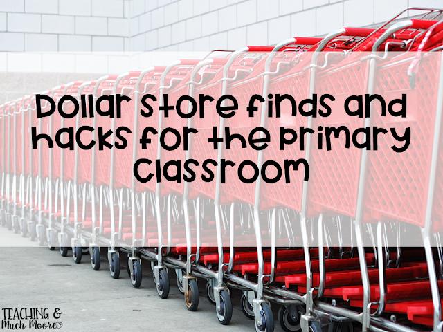 Dollar Store teacher hacks