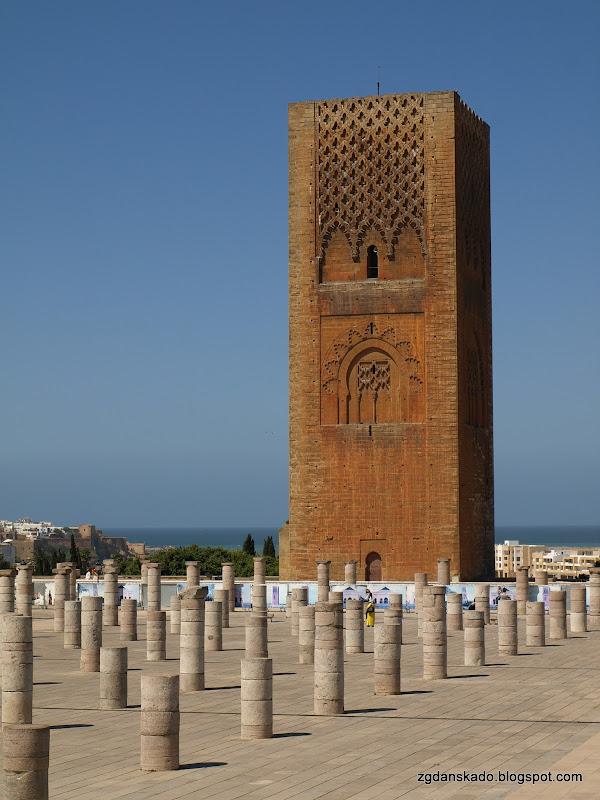 Rabat - Wieża Hassana
