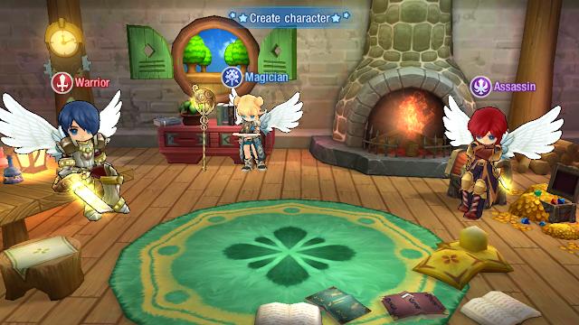 Pemilihan karakter game Luna Mobile