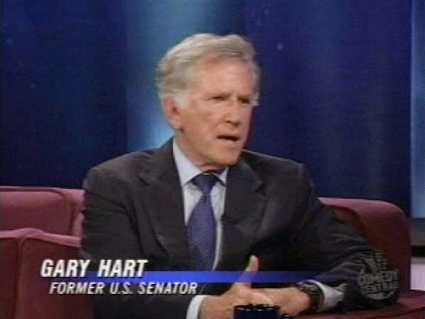 The Gary Hart Throwback Interview