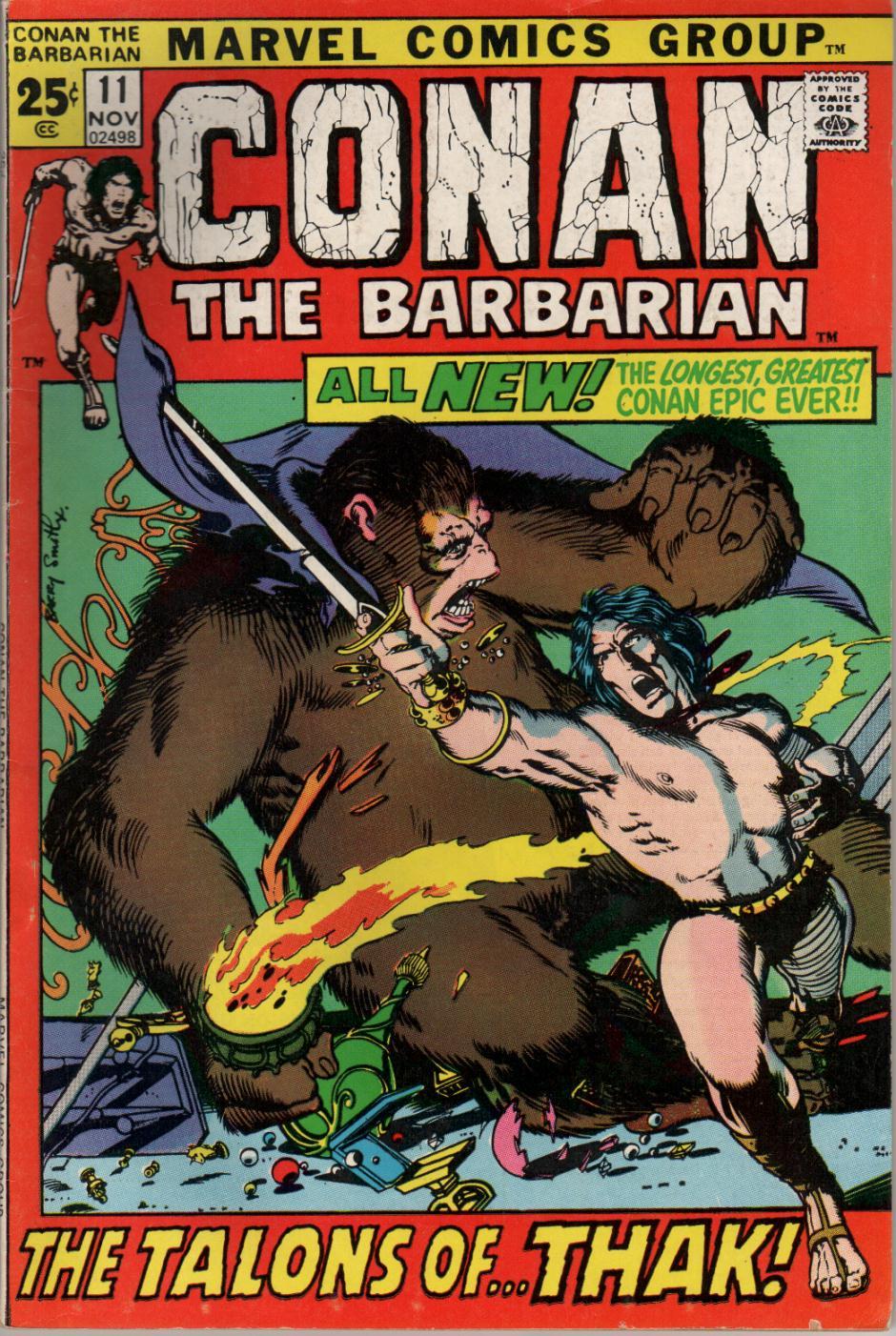 Conan the Barbarian (1970) 11 Page 1
