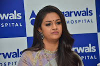 Keerthy Suresh Photos at Dr Agarwals hospital Launch TollywoodBlog