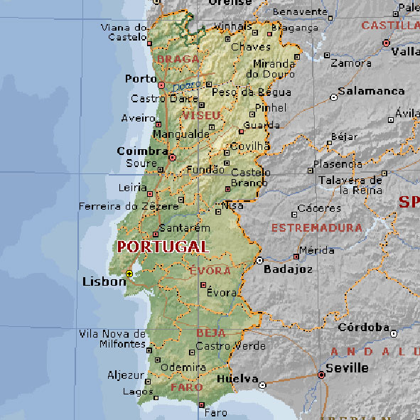 Portugal | Mapas Geográficos de Portugal