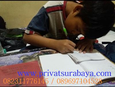 guru les privat untuk SD di Surabaya