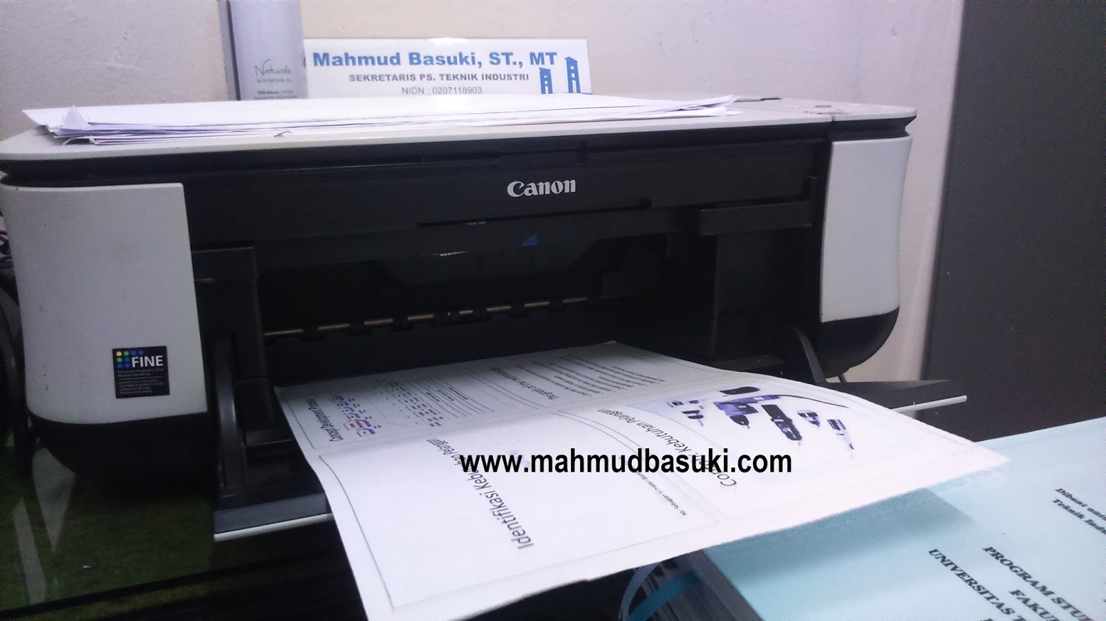 Cara Print Power Point Full Kertas Mahmud Basuki Online