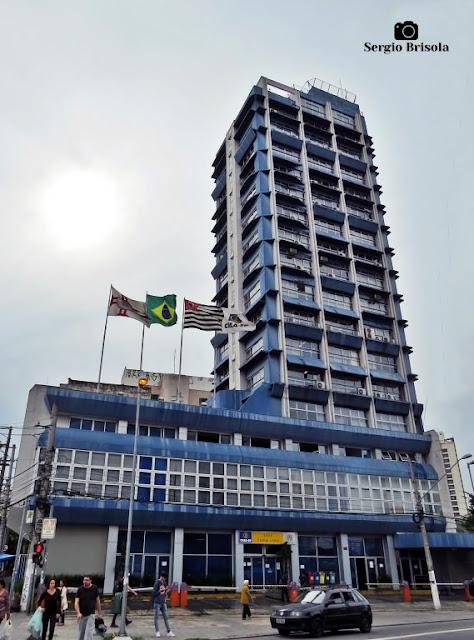Vista ampla do Edifício Crea-SP - Pinheiros - São Paulo