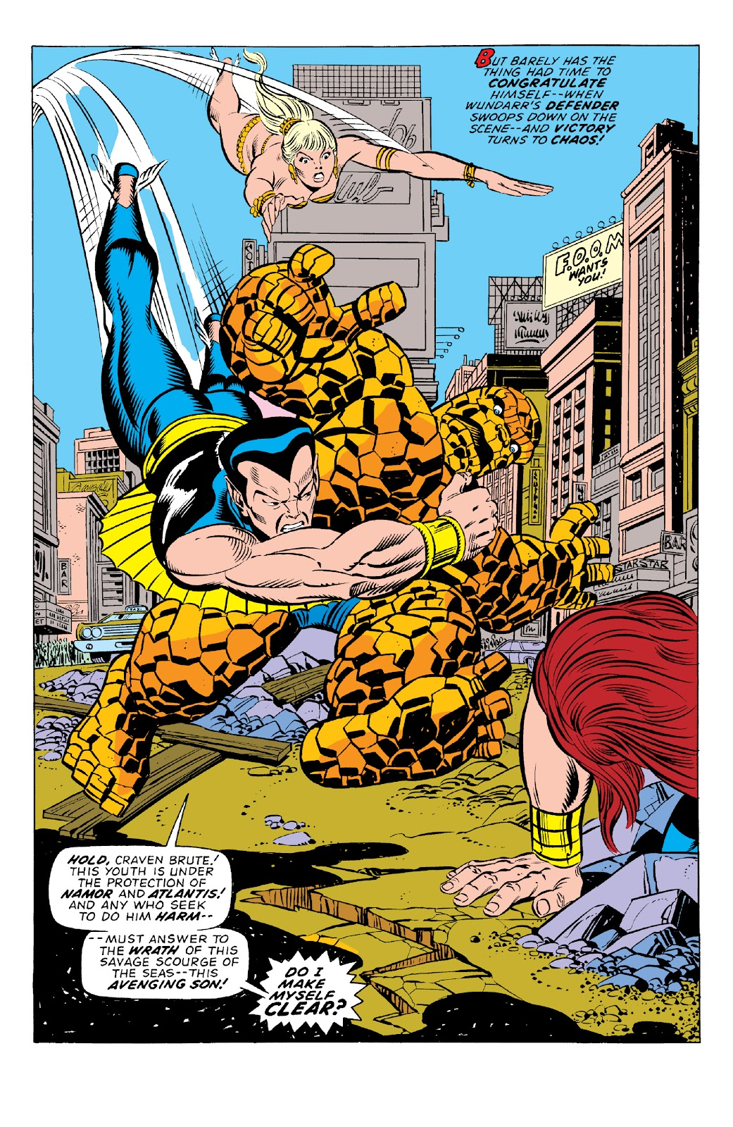 Read online Marvel Two-In-One Epic Collection: Cry Monster comic -  Issue # TPB (Part 1) - 79