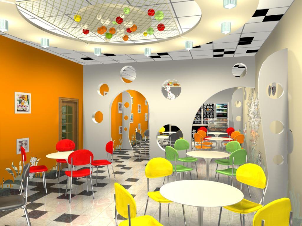 design interior cafe unik