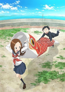 Visual baru Anime Karakai Jouzu no Takagi-san Season Kedua