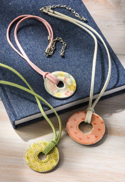 DIY Pretty Washer Necklaces by Mod Podge Rocks