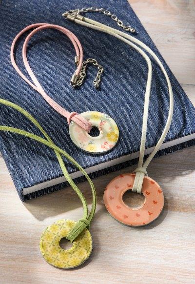 DIY Pretty Washer Necklaces by Mod Podge Rocks