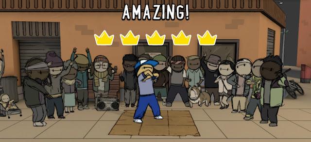 フロアキッズは、ニュースタイルのブレイクダンス・バトルゲームです!!