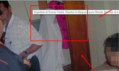 Digrebek di Kamar Hotel, Wanita Ini Berpura-pura Sholat, Namun ia Lupa Kalau Dia Tidak Pakai....