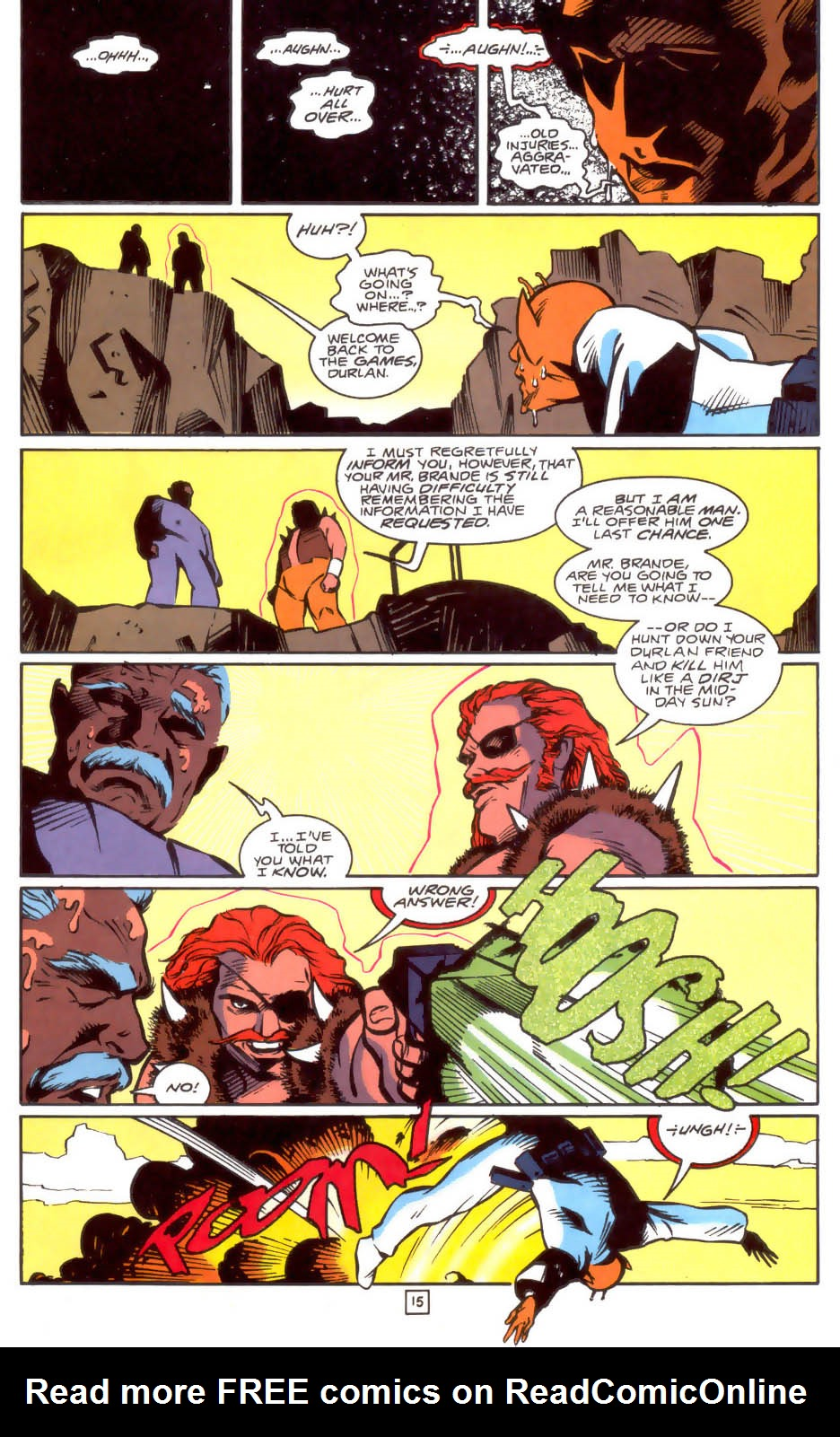 Legion of Super-Heroes (1989) 33 Page 15
