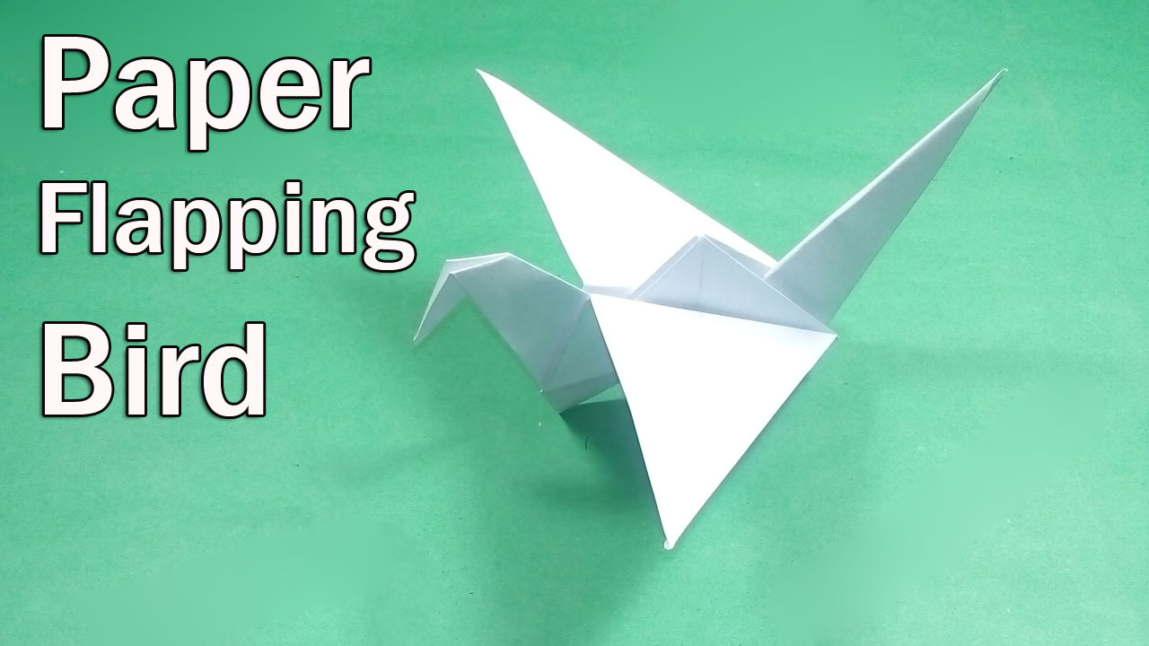 How To Make an Origami Flapping Bird - Easy Origami Intructions ...   720x1280