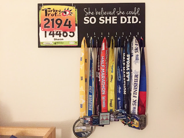 She believed she could so she did Medal Holder