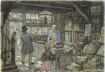 La librería. Anton Piek, 1930