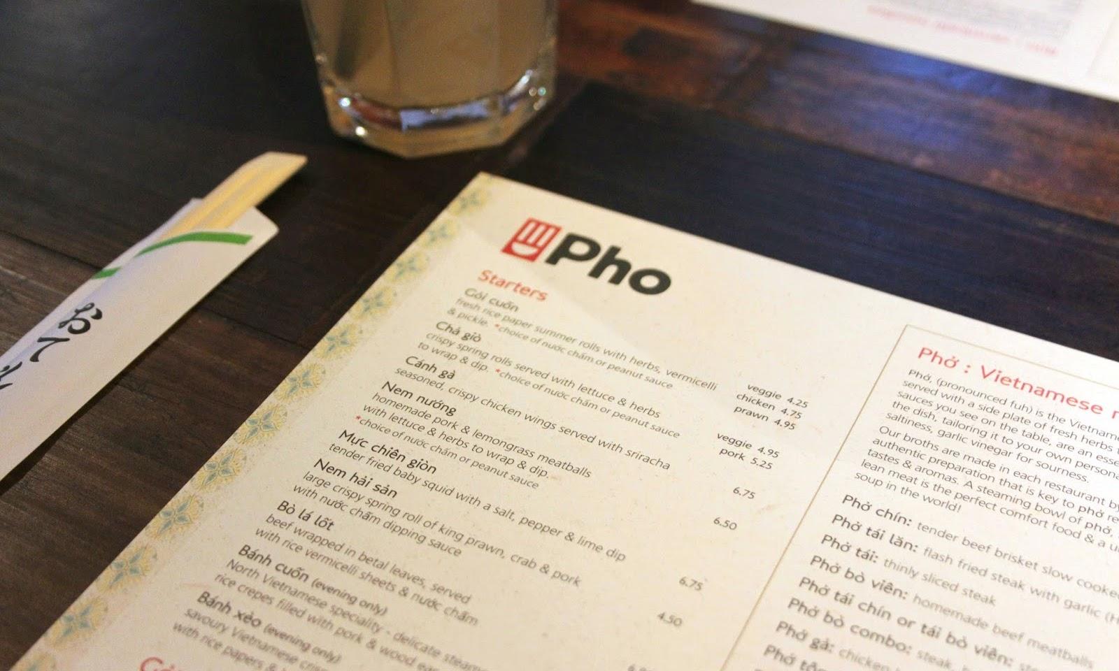 Clashing Time eats: Pho