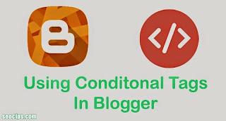 Tag Kondisional di Blogspot