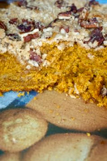 Pumpkin Streusel Coffee Cake : Savory Sweet and Satisfying