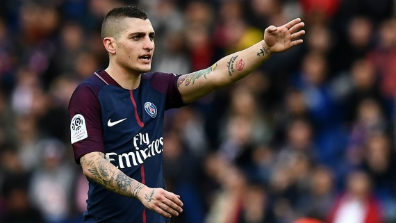 Marco Verratti of PSG