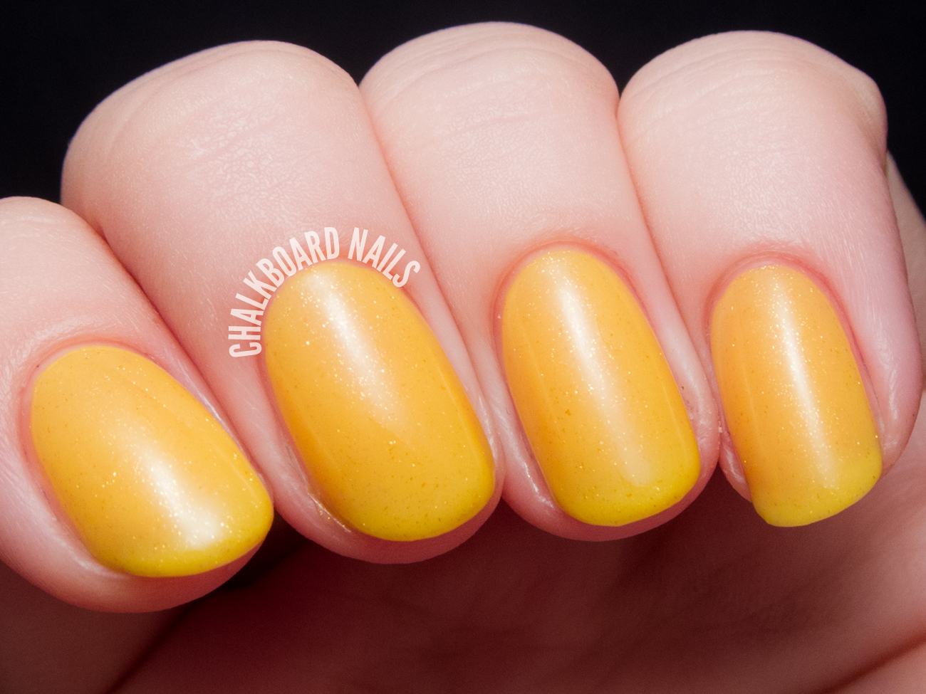 Contrary Polish Meyer Lemon via @chalkboardnails