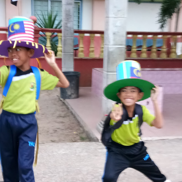 Semangat Merdeka di jiwa anak-anak