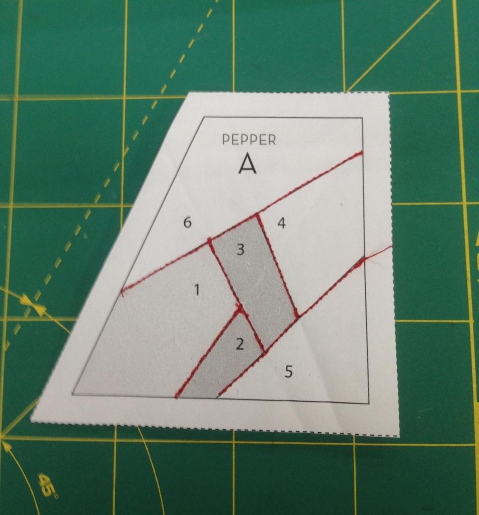 einfach bunt...: Anleitung Nähen auf Papier - ausführlich