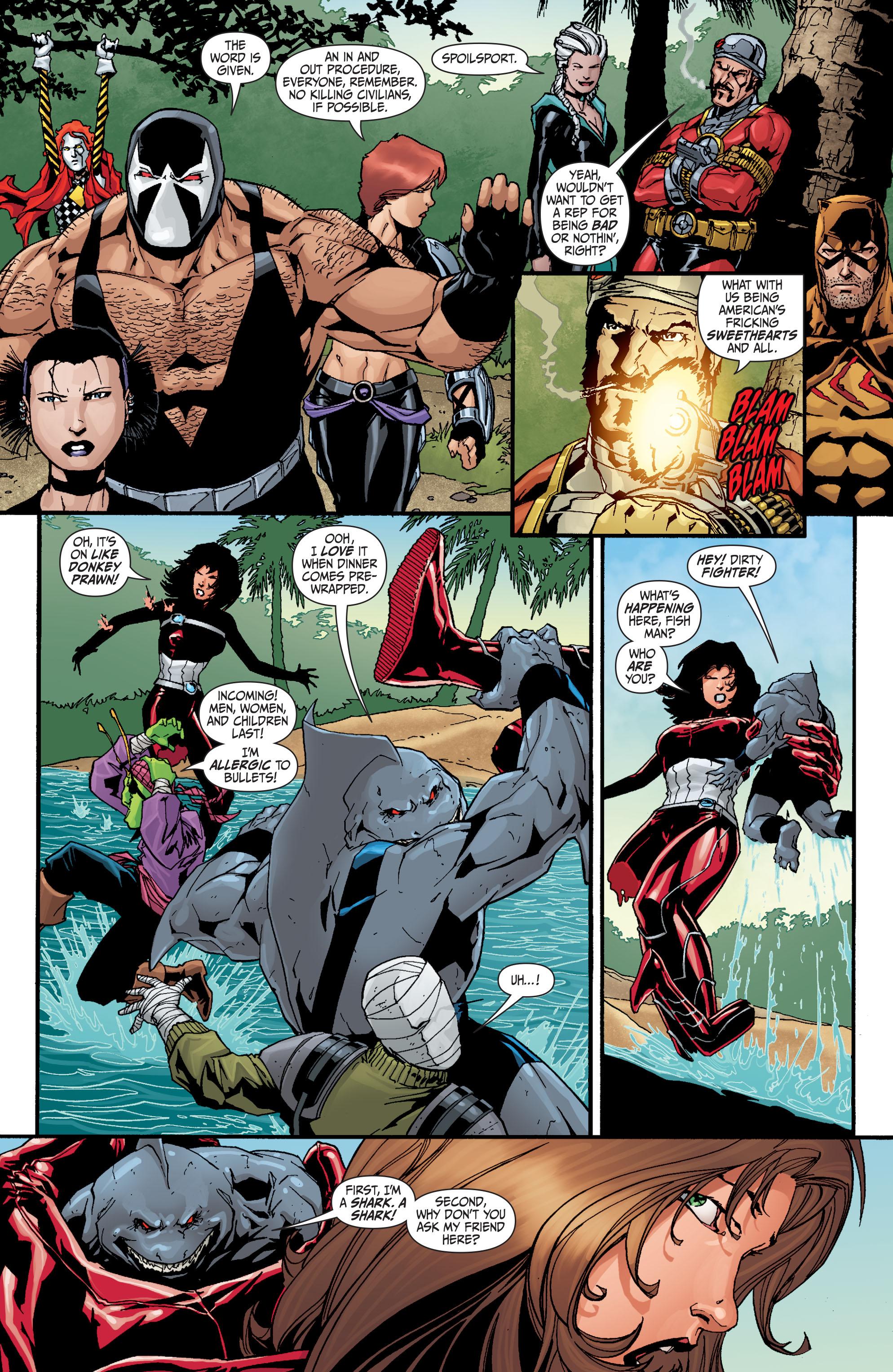 Read online Secret Six (2008) comic -  Issue #30 - 16