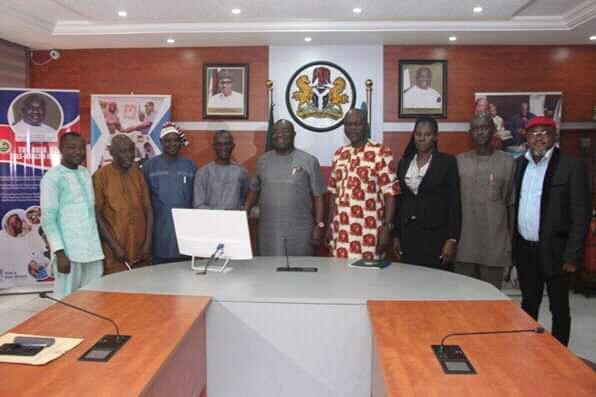 @GovernorIkpeazu assures on completion of new NUJ Secretariat