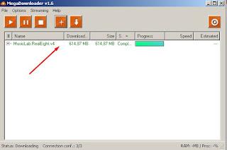 Cara Cepat Mendownload File Di Mega.nz Dengan Megadownloader