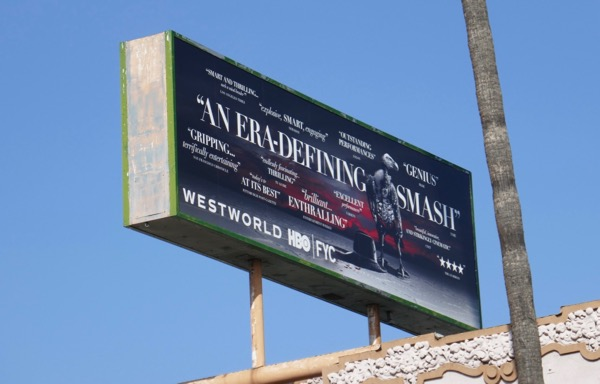 Westworld season 2 FYC billboard